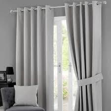 grey solar blackout eyelet curtains patio pinterest solar