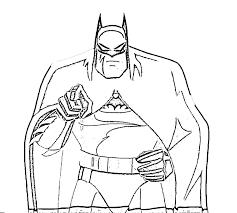 Talking Batman Coloring Pages Free Kids