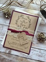 15 Rustic Wedding Invitations from Etsy