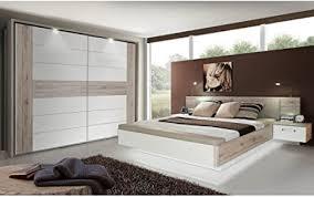 expendio schlafzimmer rubio 20a sandeiche weiß hochglanz