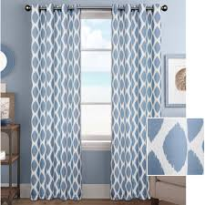 Gold And White Window Curtains by Better Homes And Gardens Ikat Diamonds Curtain Panel With Grommets