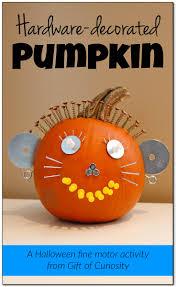 Foam Pumpkins Bulk by Hardware Decorated Pumpkins For Halloween Gift Of Curiosity
