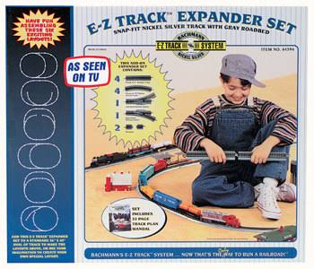 Bachmann Trains Snap Track Nickel Silver Layout Expander Model Kit