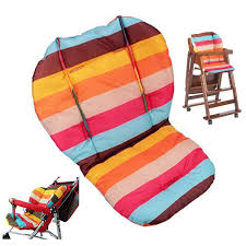 100 High Chair Pattern Amazoncom Baby Seat CushionCar Cushion Rainbow