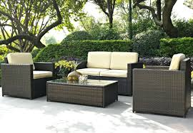 Outdoor Sectional Sofa Canada by Patio Ideas Lizkona Outdoor Patio 4 Pcs Sectional Sofa Set By