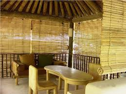 Outdoor Window Bamboo Blinds • Window Blinds