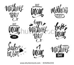 Happy Mother S Day Design Background Lettering Greeting Card Calligraphy Template