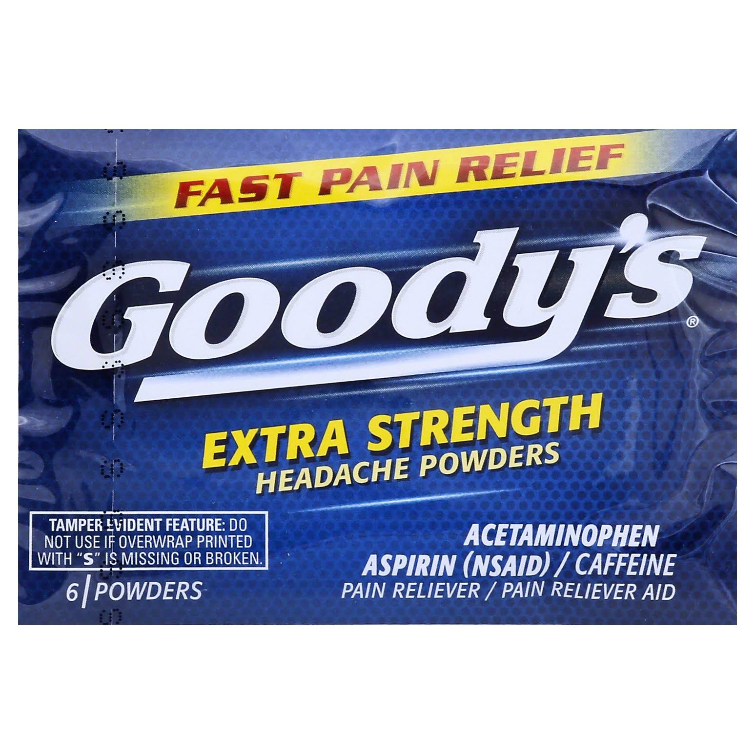 Goody's Extra Strength Headache Powders - 6 Count