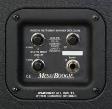 Mesa Boogie Cabinet 2x12 by Mesa Boogie Rectifier Standard Slant 4x12
