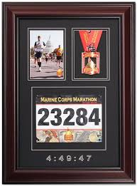 Marathon Race Photo And Finishing Medal Display Frame