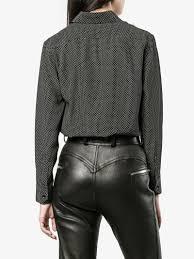 saint laurent polka dot shirt shirts browns fashion
