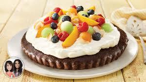 dessert aux fruits d ete tarte de brownie aux fruits d été d alexandra diaz et geneviève o