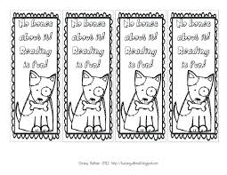 Free Coloring Bookmarks For Adults Printable Halloween Dog Color Full Size