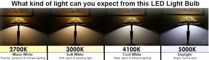 led 10 watt 60w replacement light bulb sky white 90