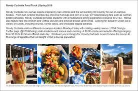 Rowdy Curbside Food Truck - UTSA