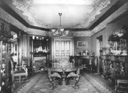 The Dining Room In Victorian Exhibit Is Based On One Used By Amos Brown Family Their West Seattle Home