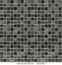 Silver Mosaic Tile Texture Pattern Seamless