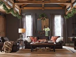 Pottery Barn Style Living Room Ideas by Best 25 Pottery Barn Leather Sofa Ideas On Pinterest Brown
