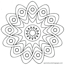Printable Mandala Coloring Pages For Adults Easy Pdf Free Mandalas To Color Large Size