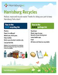 Waste Management Christmas Tree Pickup Schedule by Garbage U0026 Recycling Town Of Harrisburg