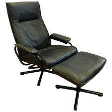 Leather Recliner With Ottoman Danish Mid Century Modern Black ... Mid Century Modern Lounge Chair Set 4 Eames Soft Pad High Herman Milo Baughman For James Inc Recliner In Original Fabric Arne Vodder France Sons Danish Teak Recling Chairs Midcentury Modern Fniture Ding Target Vintage Mid Century Danish Modern Recliner Lounge Chair Eames Mafia Building A Shaun Boyd Made This Miller White 670 671 Leather Ottoman Chair Png Sling Midcentury Selig Swivel