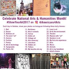 5 Things To Do In Chicago Oct 7 9 by National Arts And Humanities Month Americans For The Arts
