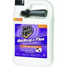 Hot Shot Bed Bug and Flea Killer 1 gal Ready to Use Sprayer HG