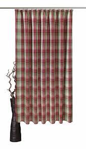 vorhang lene vhg kräuselband 1 stück leinenoptik karo skandinavisch kaufen otto