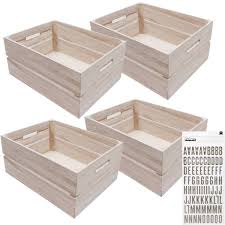 Four Wooden Crates And Free Thickers Bundle