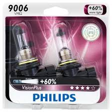 Philips Lamps Cross Reference by Visionplus Car Headlight Bulb 9006vpb2 Philips