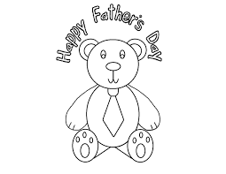 Fathers Day Cards Coloring Pages