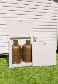 rangement bouteille de gaz coffre bouteilles gaz pvc 2 bouteilles made in