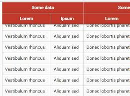 jQuery Plugin For Fixed Table Header Footer and Columns