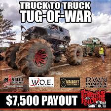 100 Truck Tug Of War 7500 Payout At The To Rednecks With Paychecks
