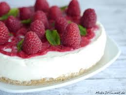himbeer minze torte ohne backen rezept makeitsweet de