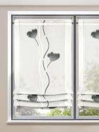 raffrollo modern floral gardinen outlet