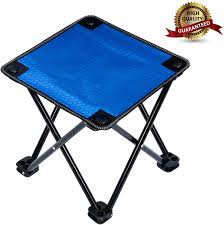 Garne T Mini Portable Folding Stool,Outdoor Folding Chair For  Camping,Fishing,Travel,Hiking,Garden,Beach, Quickly-Fold Chair Oxford Cloth  With Carry ...