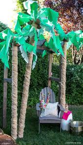 DIY Palm Tree Party Decor - Lia Griffith