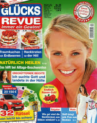cuisine revue zeitschrift glücks revue das unterhaltungsmagazin lesezirkel portal