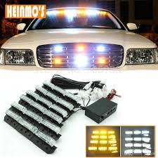 6*9 LED Emergency Light Led Strobe Lights Bars Deck Dash Grille ...