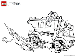 100 Lego Recycling Truck New Coloring Pages City Garbage I Stink
