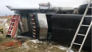 100 Sun Prairie Truck Driving School Semi Driver Rescued After Being Trapped In Overturned Truck WISC