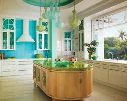 Turquoise Kitchen Decor With Appliances And Other Related Images Gallery