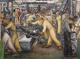 Diego Rivera Rockefeller Mural Analysis by Diego Rivera U0027s Detroit Industry Image Journal