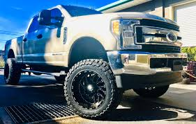 """2017 Ford F-150 4x4 Diesel With A 6"""" Rough Country Suspension Lift ..."""