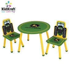 John Deere Bedroom Decorating Ideas by John Deere Table U0026 Chair Set By Kidkraft Kid Furniture World
