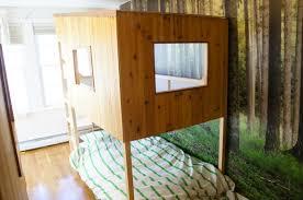 Fjellse Bed Frame Hack by Kura Treehouse Beds Ikea Hackers Ikea Hackers