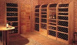 range bouteille en brique conserver vin les casiers à bouteilles