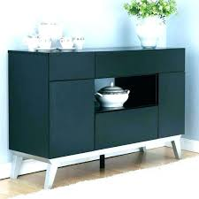 Black Buffet Hutch Dining Room Cabinet Unusual Ideas Cabinets For