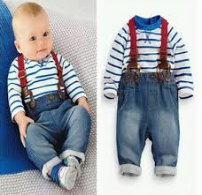 Buy Online 2 Piece Baby Suspender Outfit For Toddler Boys